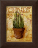 Chives Posters by Carol Elizabeth