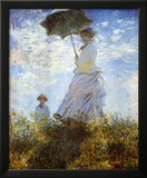Madame Monet and Her Son Posters by Claude Monet