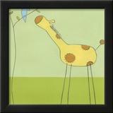 Stick-leg Giraffe II Print by Erica J. Vess