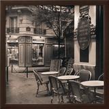 Café, Montmartre Posters by Alan Blaustein