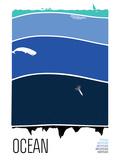 Ocean Serigraph by  Brainstorm