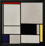 Composition No. 2 Poster by Piet Mondrian