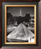 La Pyramide de Louvre Prints by Serge Sautereau