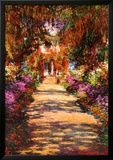 Il Viale del Gardino Prints by Claude Monet
