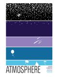 Atmosphere Serigraph by  Brainstorm