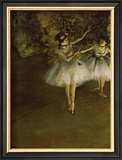 Two Dancers Prints by Edgar Degas