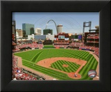 Busch Stadium 2010 Framed Photographic Print