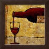 Red Wine Posters by Judi Bagnato