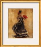 Flamenco Dancer II Prints by Caroline Gold