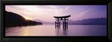 Torii, Itsukushima Shinto Shrine, Honshu, Japan Print by James Montgomery