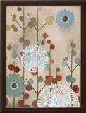 Mod Blossom Prints by Sally Bennett Baxley