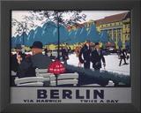 Berlin via Harwich twice a day, LNER, c.1925 Prints