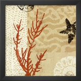 Coral Impressions I Posters by Tandi Venter