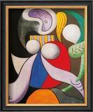 Femme a La Fleur, c.1932 Prints by Pablo Picasso