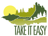 Take It Easy Sérigraphie par  Brainstorm