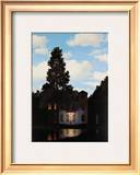 L&#39;Empire des Lumieres Prints by Rene Magritte
