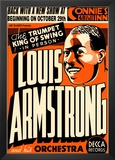 Louis Armstrong at Connie's Inn, New York City, 1935 Posters by Dennis Loren