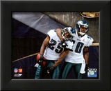 DeSean Jackson & LeSean McCoy 2011 Action Framed Photographic Print