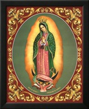 Lady of Guadalupe Poster by Vincent Barzoni