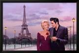 Paris Sunset Prints by Chris Consani