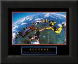 Success: Skydivers Posters