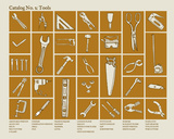 Catalog 2 - Tools Serigraph by  Brainstorm