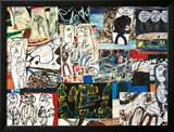 Tissu d'Episode, 1976 Posters by Jean Dubuffet