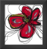 Butterfly Red Prints by Jan Weiss
