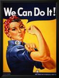 Nós podemos fazê-lo! (Rosie, a Rebitadeira) Poster por J. Howard Miller