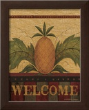 Welcome Pineapple Posters by Warren Kimble