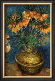 Crown Imperial Fritillaries in a Copper Vase, c.1886 Prints by Vincent van Gogh