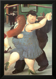 Dancers Prints by Fernando Botero