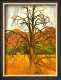 Dead Pinon Tree Posters by Georgia O'Keeffe