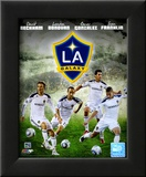 2011 Los Angeles Galaxy Composite Framed Photographic Print