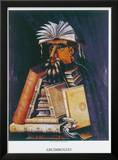 The Librarian Prints by Giuseppe Arcimboldo