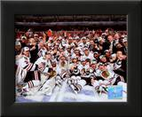 2009-10 Chicago Blackhawks Team Framed Photographic Print