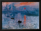 Impression, Sunrise, c.1872 Posters by Claude Monet