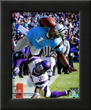 Cam Newton 2011 Action Framed Photographic Print