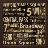 New York Prints by Luke Wilson