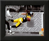 Troy Polamalu 2010 Spotlight Action Framed Photographic Print