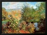 Stiller Winkel im Garten von Montgeron Posters by Claude Monet