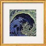 Feminine Wave (detail) Posters by Katsushika Hokusai