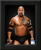 The Rock 2011 Posed Framed Photographic Print