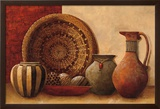 Basket and Vessels Print by Kristy Goggio
