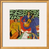 Music, c.1939 Prints by Henri Matisse
