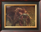 La Belle Dame Sans Merci Prints by Frank Bernard Dicksee