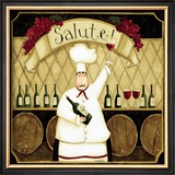 Kitchen Favorites: Salute Print by Dan Dipaolo
