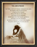 Lord's Prayer Poster by Danny Hahlbohm