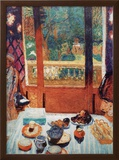 The Breakfast Room Prints by Pierre Bonnard