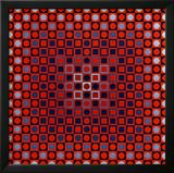 Alom Prints by Victor Vasarely